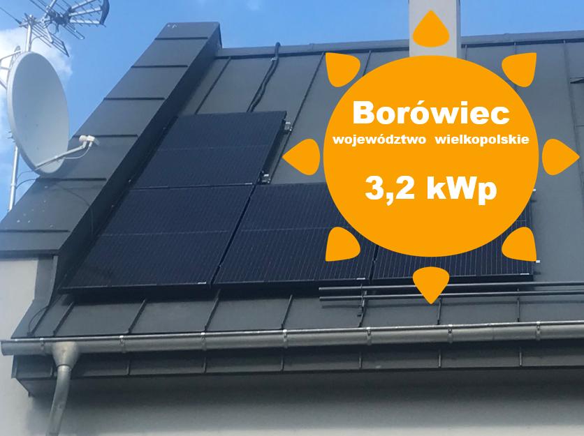 Fotowoltaika Borówiec, Panele słoneczne Borówiec