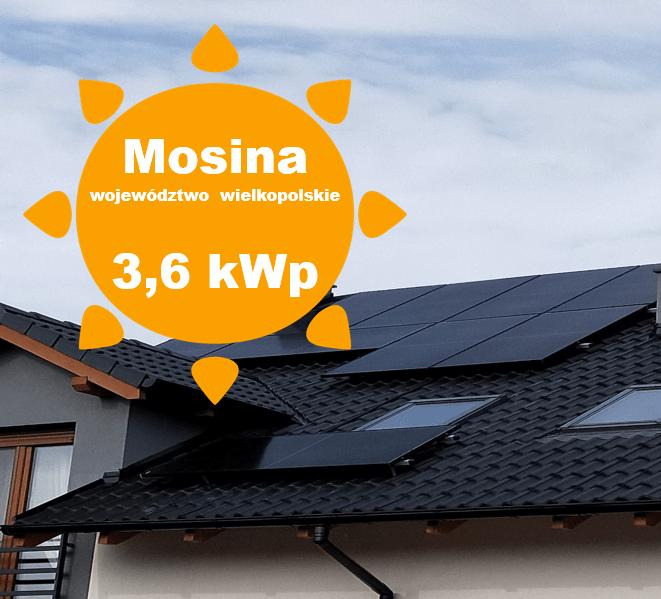 Fotowoltaika Mosina, Panele słoneczne Mosina, fotowoltaika wielkopolska