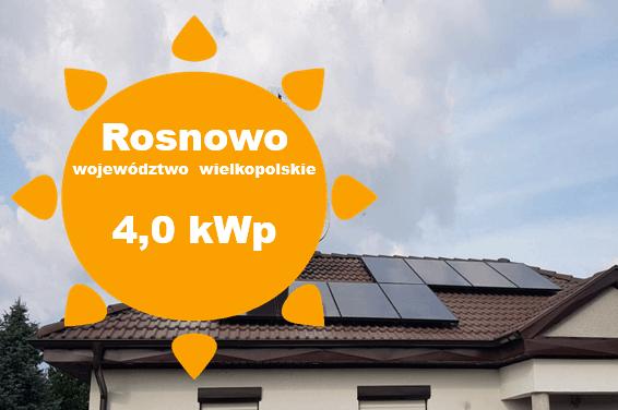Fotowoltaika Rosnowo, Panele słoneczne Rosnowo, Fotowlltaika Poznań